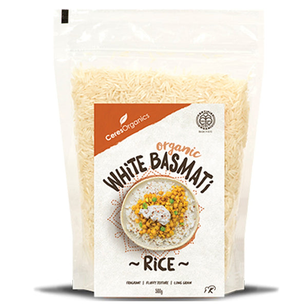 Ceres Organics White Rice Basmati,.500g