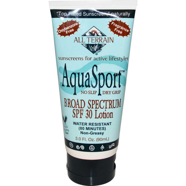 All Terrain AquaSport SPF 30+ Sunblock, 90 ml.
