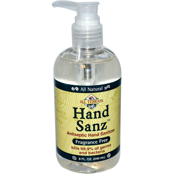 All Terrain Hand Sanz - Fragrance Free, 240 ml.