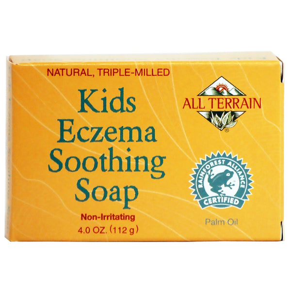 All Terrain Kids Eczema Soothing Soap, 112 g.