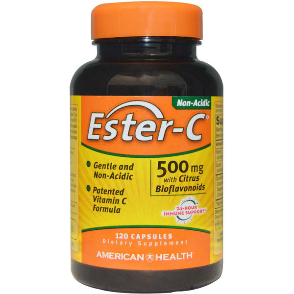 American Health Ester-C 500 mg, 120 caps.