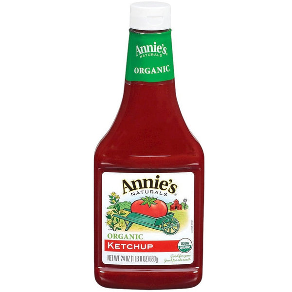 Annie's Naturals Tomato Ketchup (Organic), 680g.