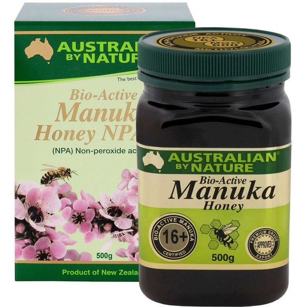 Australian By Nature Bio-Active Manuka Honey NPA 16+, 500 g.