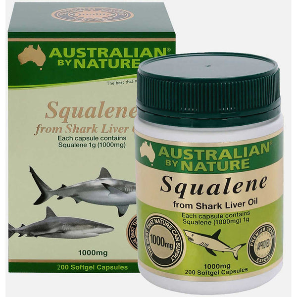 Australian By Nature Squalene 1000mg, 100 sgls.