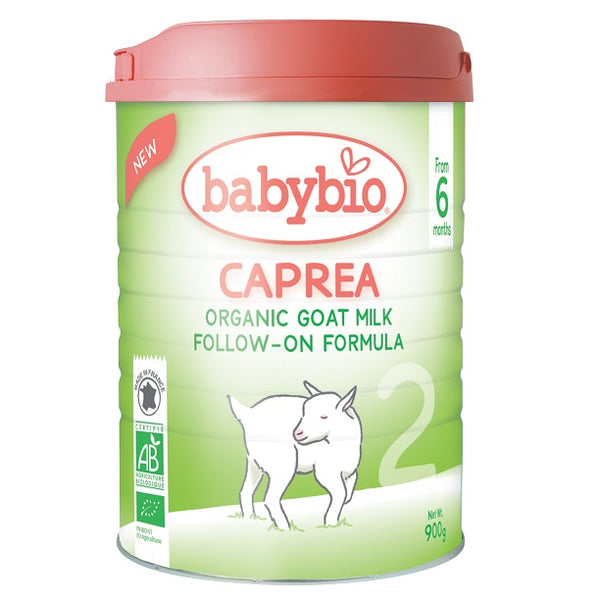 Babybio CAPREA 2 Organic Goat Milk Follow-On Formula, 900g.