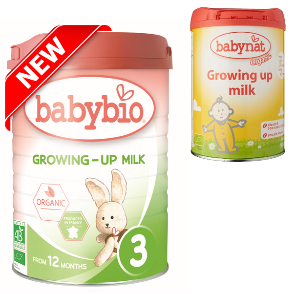 Babybio Organic Growing Up Milk (12 mos. onwards), 900 g-NaturesWisdom