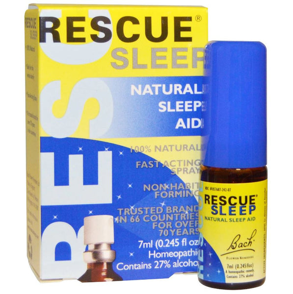 Bach Flower Remedies Rescue Remedy Sleep (USA), 7ml.