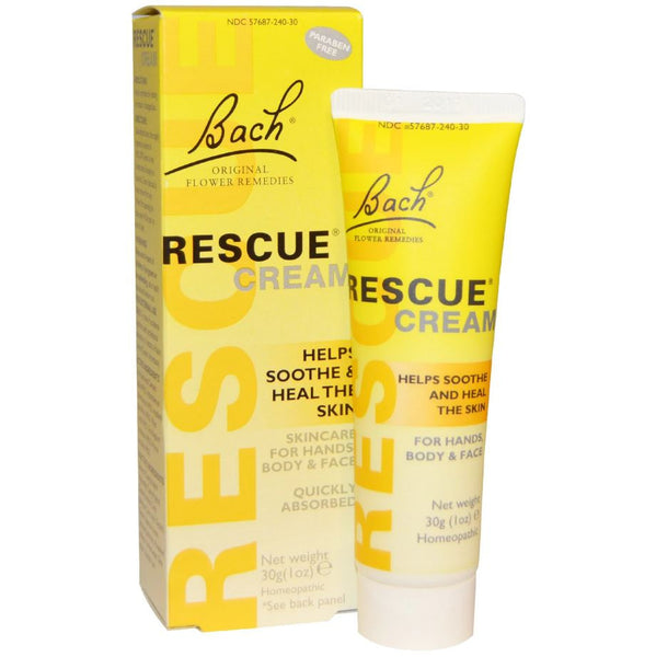 Bach Original Flower Essences Rescue Remedy Cream, 30 g.