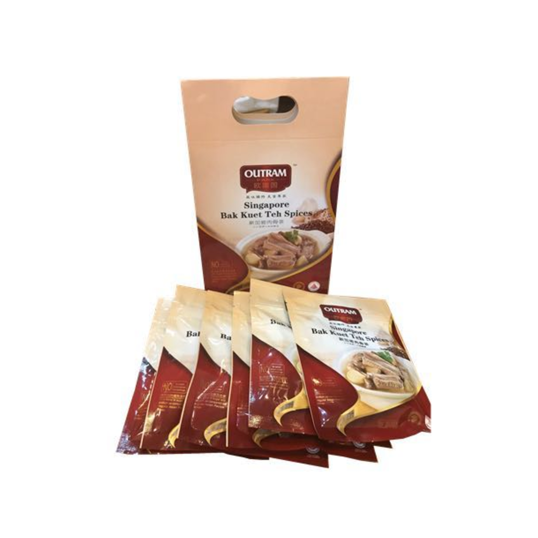 Singapore Bak Kuet Teh Spices - Gift Set (6 X 30g)