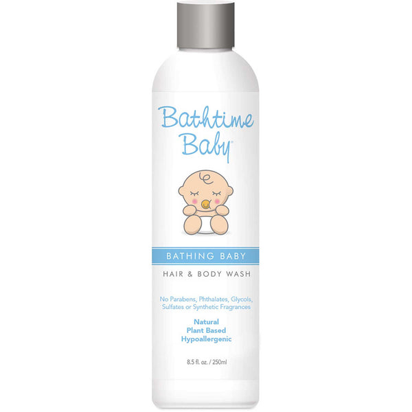 Bathtime Baby Bathing Baby Hair & Body Wash, 250ml.