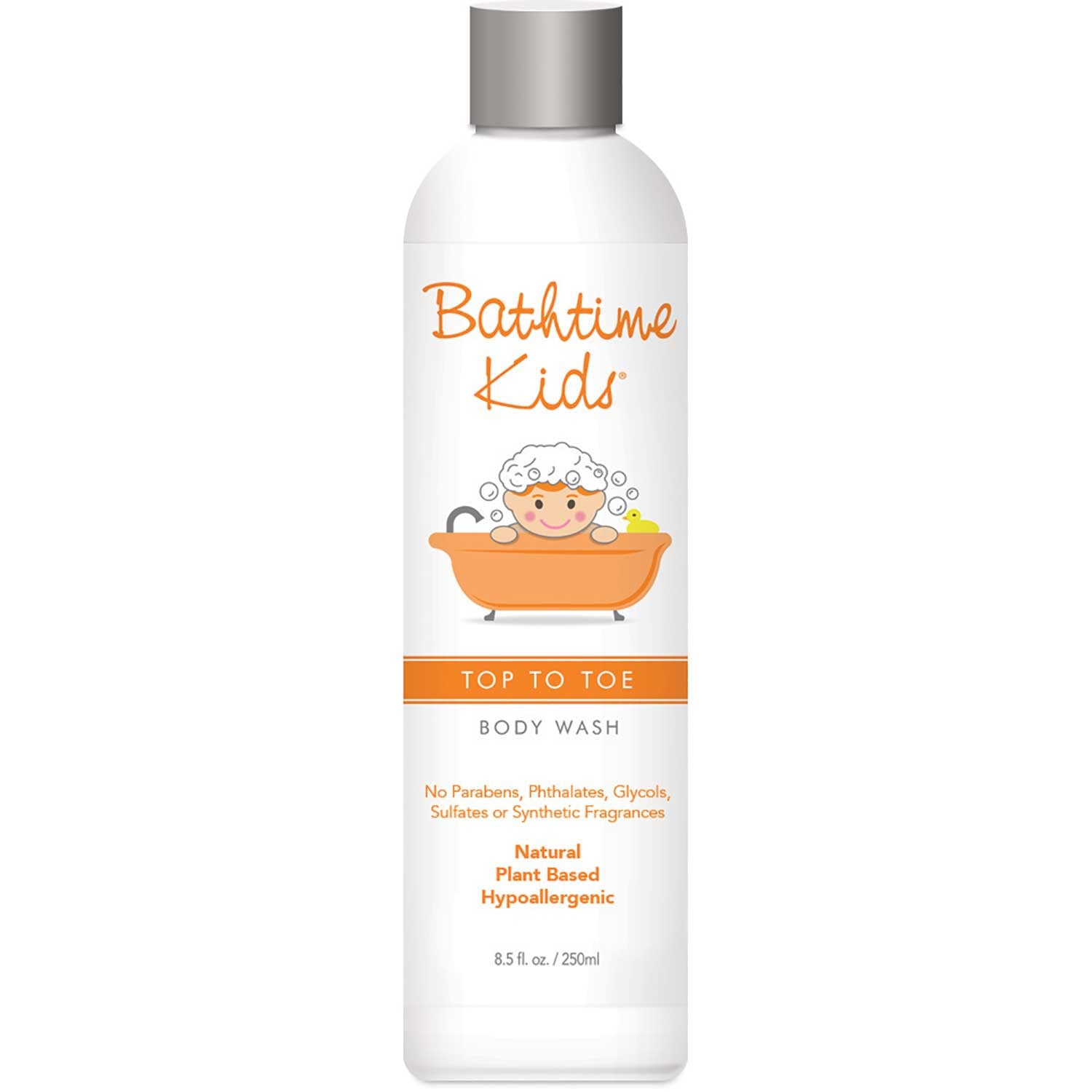 Bathtime Kids Top to Toe Body Wash, 250ml.