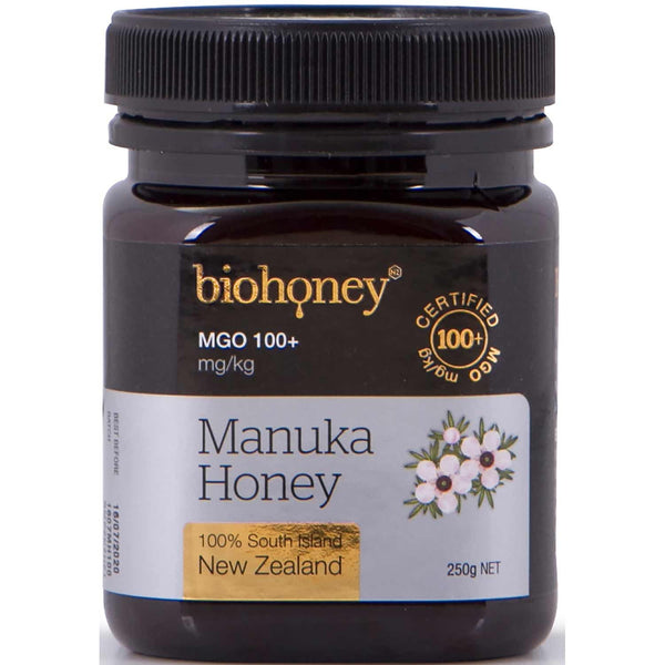BioHoney Manuka Honey 100+ MGO, 250g