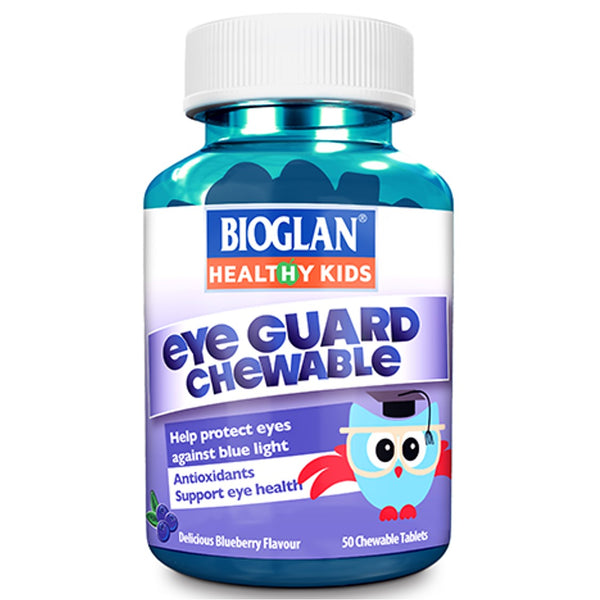 Bioglan Kids Eye Guard Chewable, 50 tabs