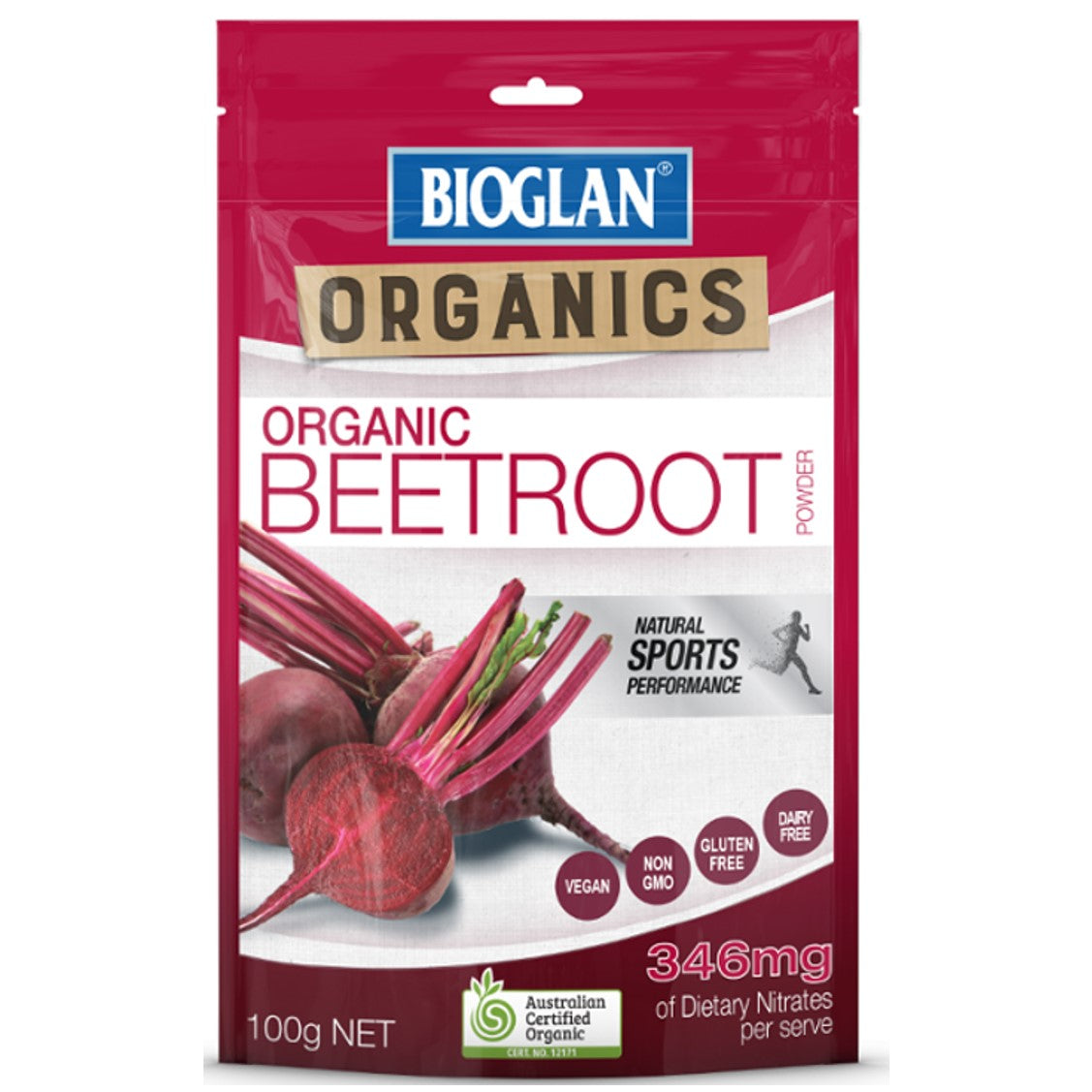 Bioglan Superfood Beetroot Powder, 100g.