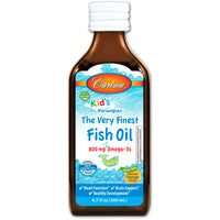 Carlson Labs Kid's The Very Finest Fish Oil - Orange, 200 ml.