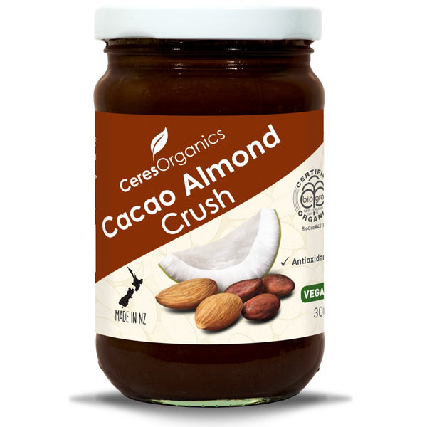 Ceres Organics Cacao Almond Crush, 300 g.