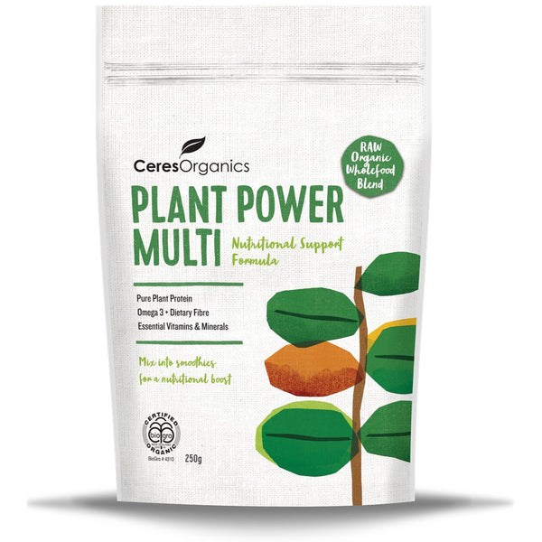 Ceres Organics Plant Power Multi, 250 g.