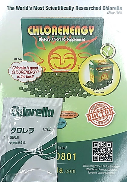 FREE SAMPLE Chlorenergy Dietary Chlorella Supplement