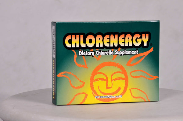 Chlorenergy Dietary Chlorella Supplement 200 mg, 300 tabs.
