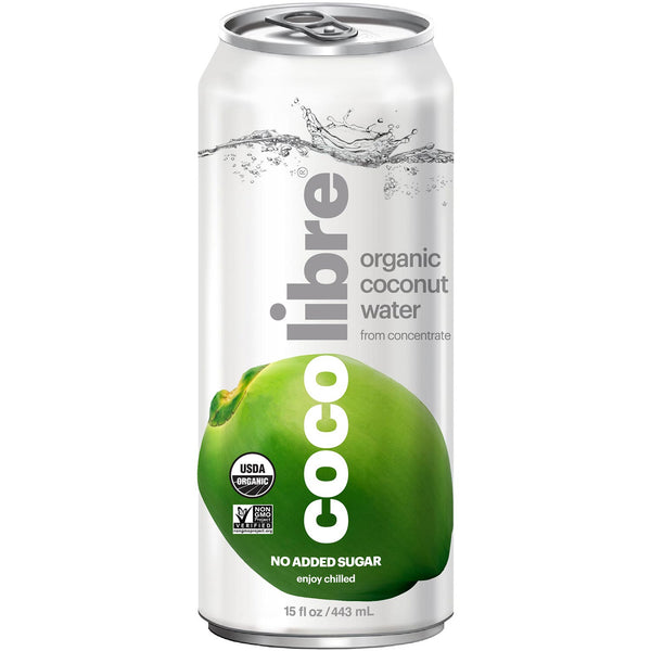 Coco Libre Pure Organic Coconut Water (>95% Organic), 443 ml