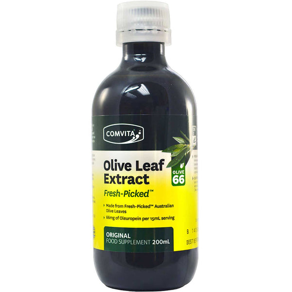 Comvita Olive Leaf Extract - Natural Flavor, 200 ml.