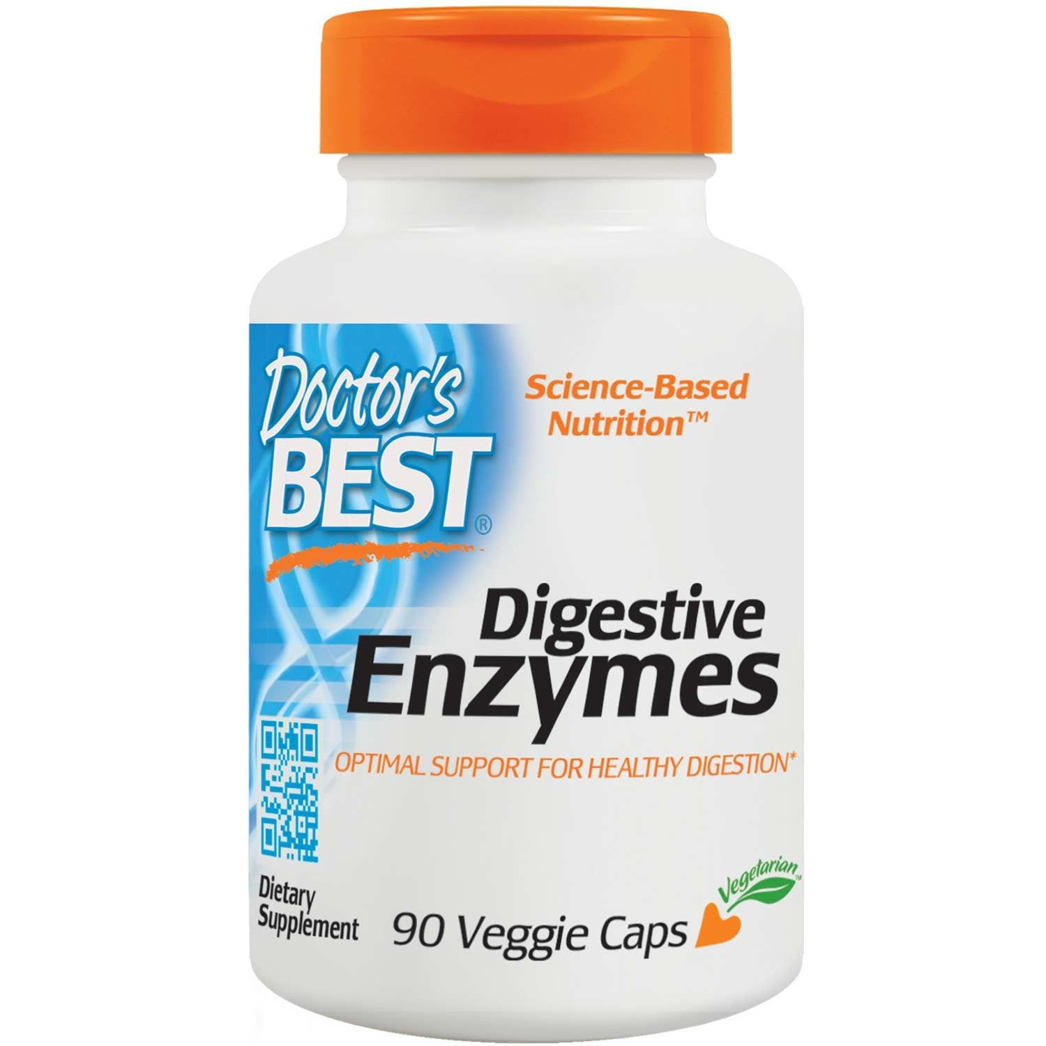 Doctor's Best Digestive Enzymes, 90 vcaps-NaturesWisdom