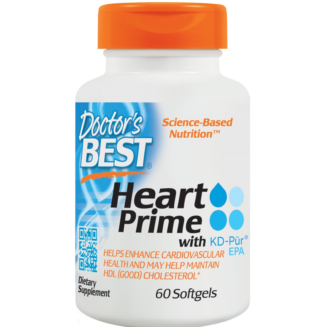 Doctor's Best Heart Prime, 60 sgls-NaturesWisdom