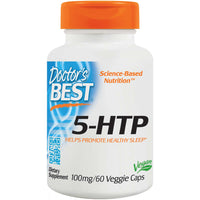 Doctor's Best 5-HTP 100 mg, 60 vcaps