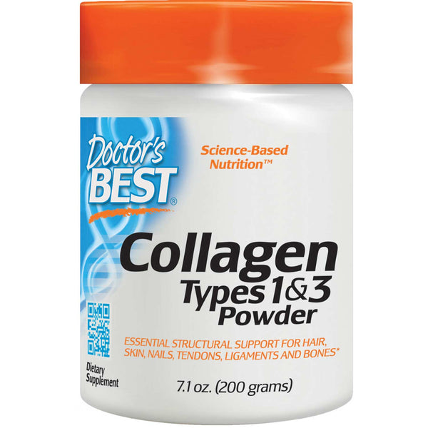 Doctor's Best Best Collagen Types 1 & 3 Powder, 200g