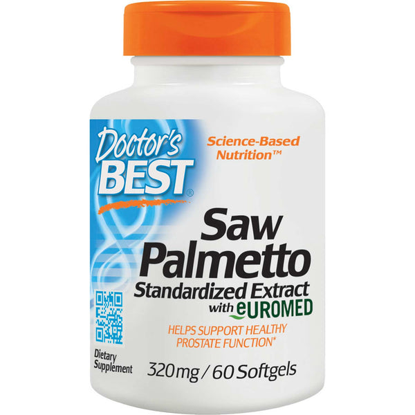 Doctor's Best Best Saw Palmetto, 320mg, 60 sgls