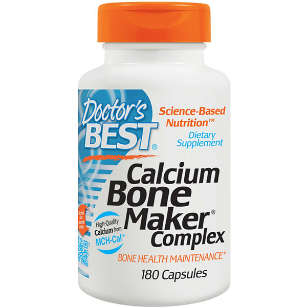 Doctor's Best Calcium Bone Maker Complex, 180 caps