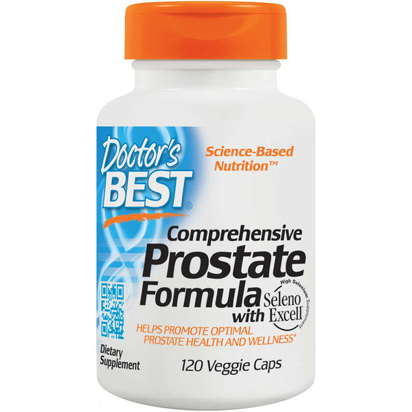 Doctor's Best Comprehensive Prostate Formula, 120 vcaps