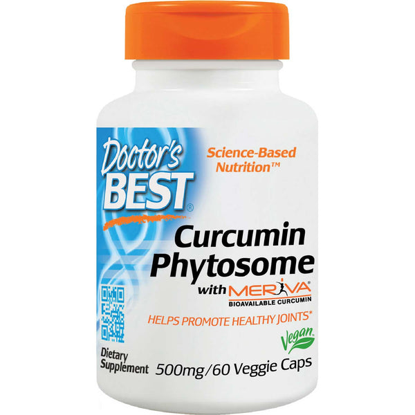 Doctor's Best Curcumin Phytosome with Meriva 500mg, 60 vcaps