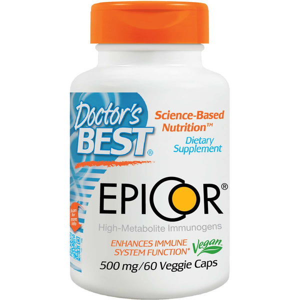 Doctor's Best EpiCor 500mg, 60 vcaps