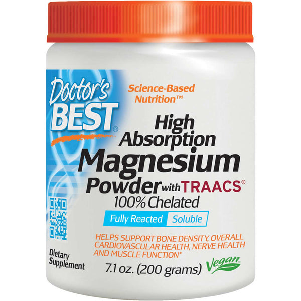 Doctor's Best High Absorption Magnesium, 200g
