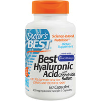 Doctor's Best Hyaluronic Acid with Chondroitin Sulfate, 60 caps