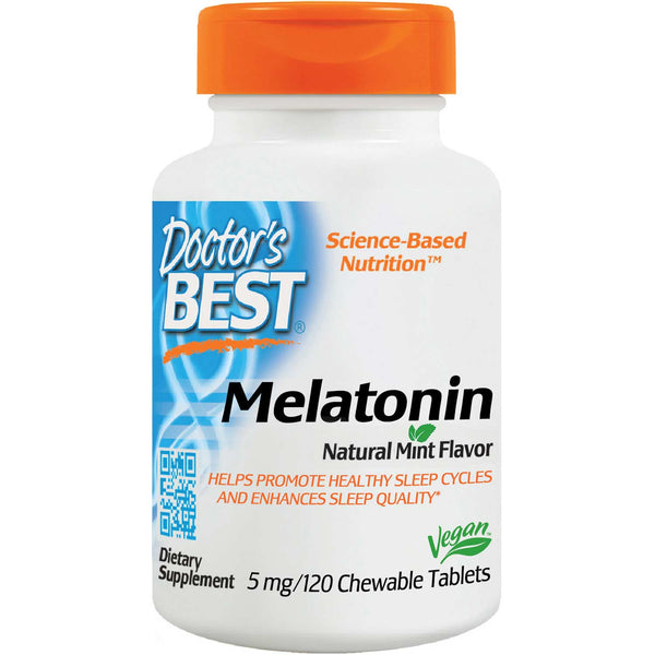 Doctor's Best Melatonin 5mg, 120 tabs