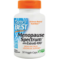 Doctor's Best Menopause Spectrum with EstroG-100, 30 vcaps-NaturesWisdom