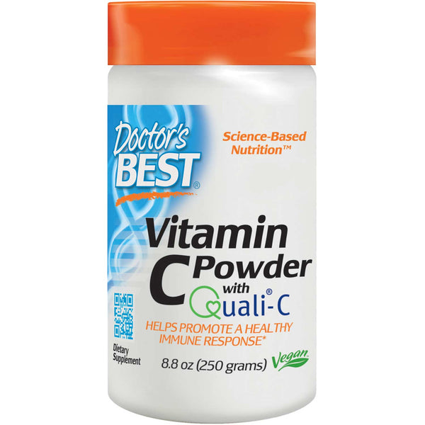 Doctor's Best Vitamin C featuring Quali-C, 250g