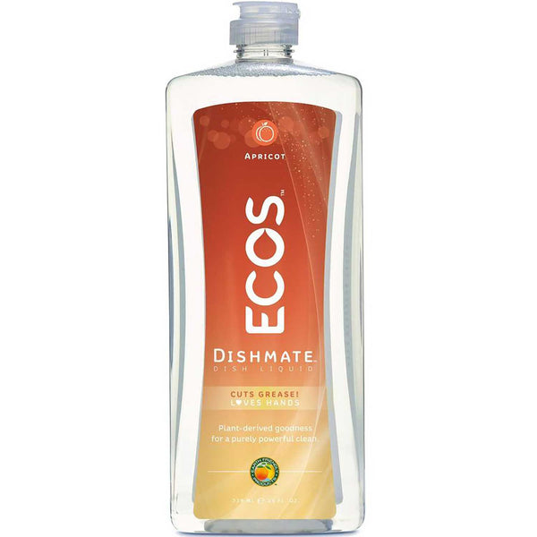 Earth Friendly Dishmate - Natural Apricot, 739 ml.