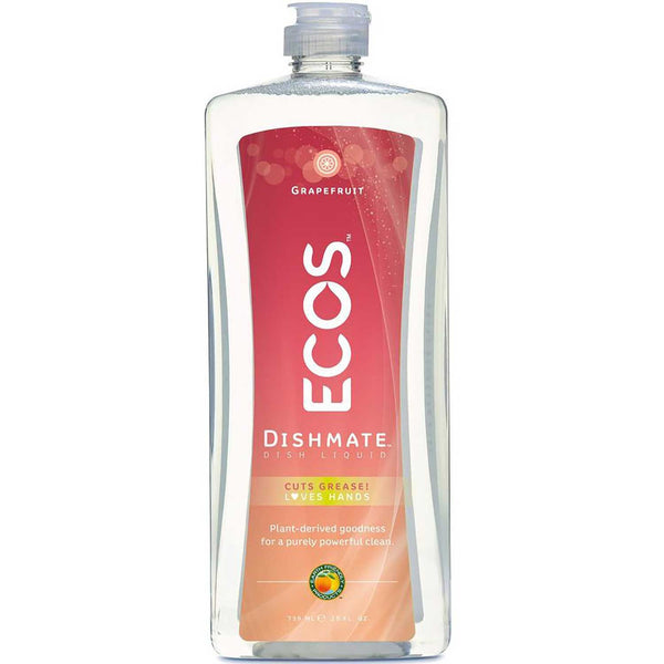 Earth Friendly Dishmate - Natural Grapefruit, 739 ml.