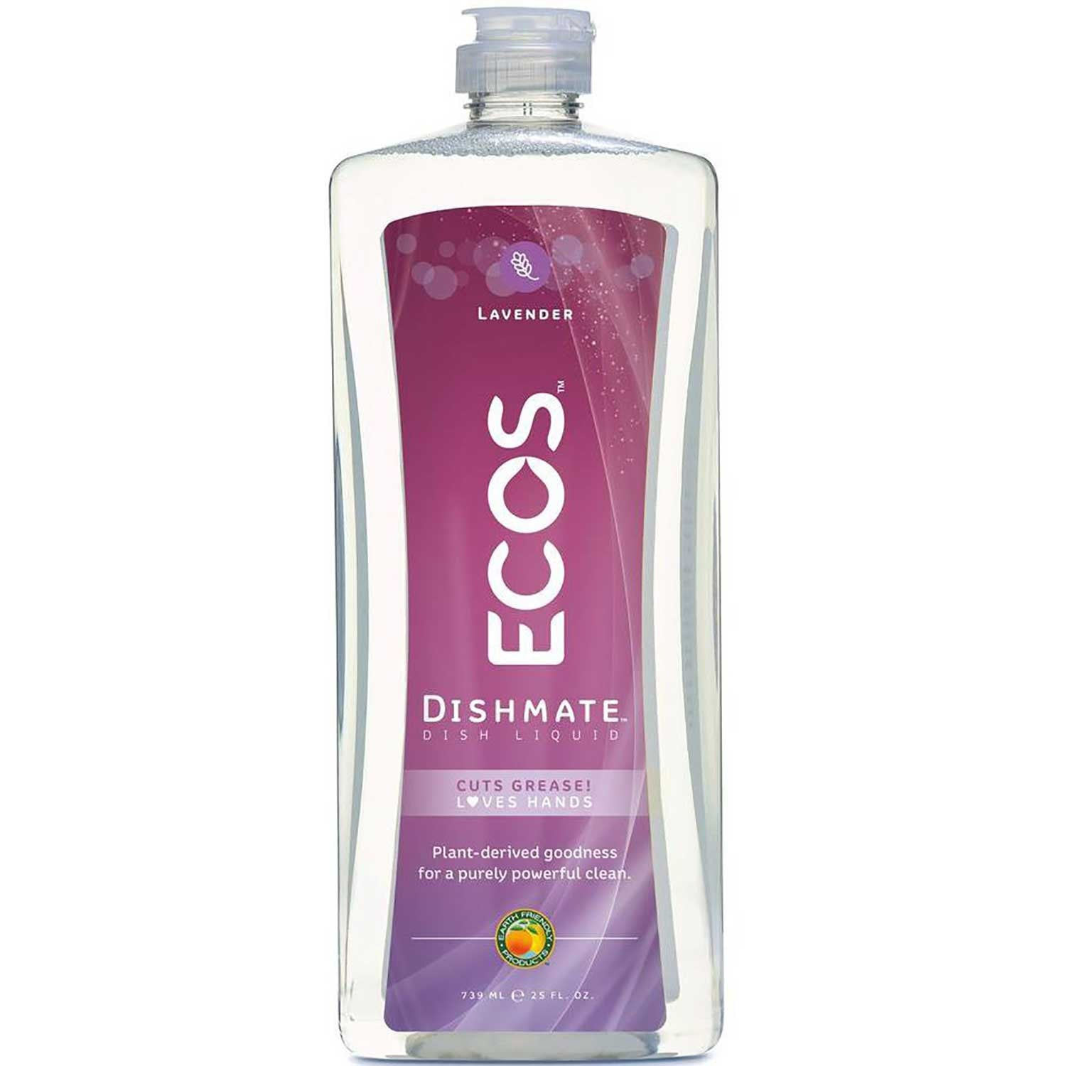 Earth Friendly Dishmate - Natural Lavender, 739 ml.