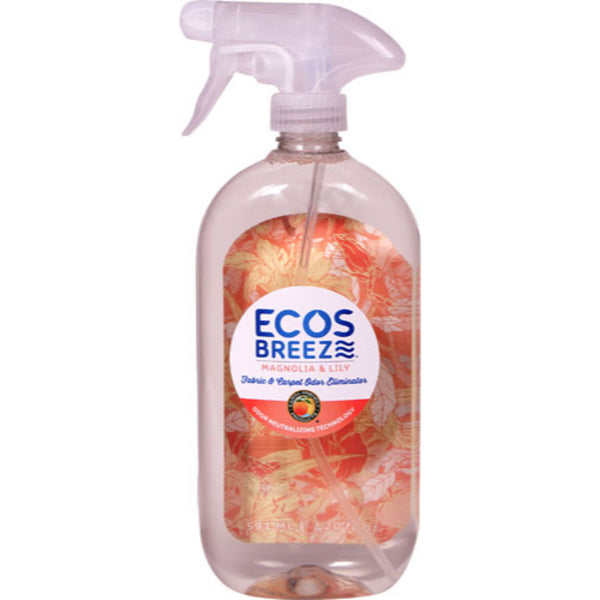 Earth Friendly ECOSBreeze™ Odor Eliminator Magnolia & Lily, 591 ml.