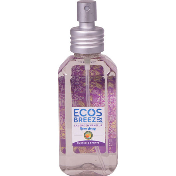 Earth Friendly ECOSBreeze™ Room Spray Lavender Vanilla, 118 ml.