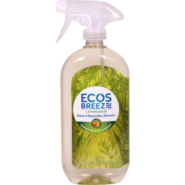 Earth Friendly ECOSBreeze™ Odor Eliminator Lemongrass, 591 ml.