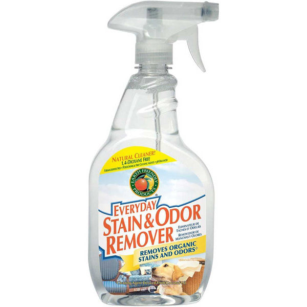 Earth Friendly Everyday Stain & Odor Remover, 650 ml.