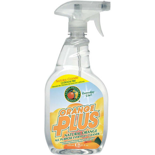 Earth Friendly Orange Plus® Spray RTU All Purpose Everyday Cleaner, 650 ml.