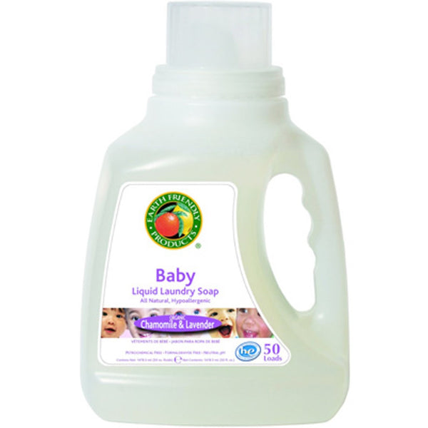 Earth Friendly Baby ECOS® Laundry Liquid - Chamomile & Lavender, 1478.5 ml.