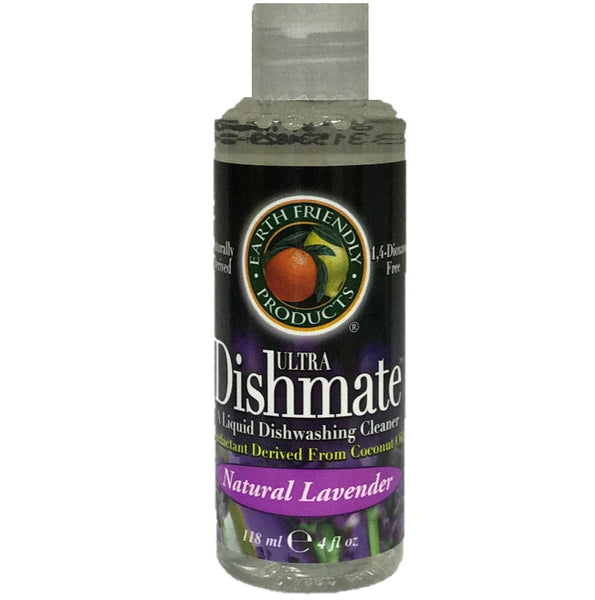 Earth Friendly Dishmate - Natural Lavender, 118 ml.