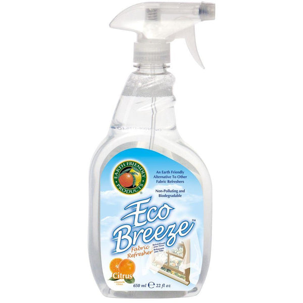 Earth Friendly Eco Breeze Fabric Refresher - Citrus Blend, 650 ml.